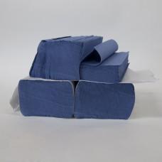 Z-Fold Hand Towel Blue 1 Ply