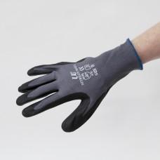 Heavy Duty Black Grip Gloves Size 10