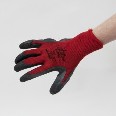 Red & Black Gripster Gloves Size9