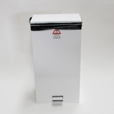 Large Fire Retardent Pedal Bin