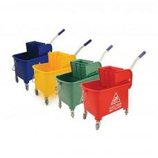 20 Litre Mop Bucket & Wringer Blue