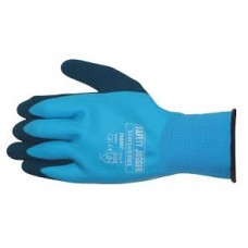 Blue Oil Resisant Gripster Gloves Size 9