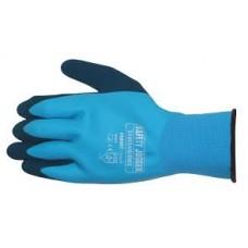 Blue Oil Resisant Gripster Gloves Size 9