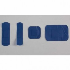 Sterile Blue Dectectable Plasters Assorted -100