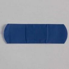 Blue Detectable Plasters 7.5 x 2.5cm -100