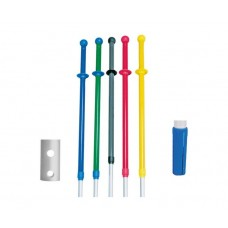 Microfibre Mop Handle Telescopic Blue